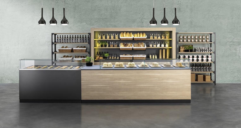 Prodotti bakery cafe for Bancone bar inglese