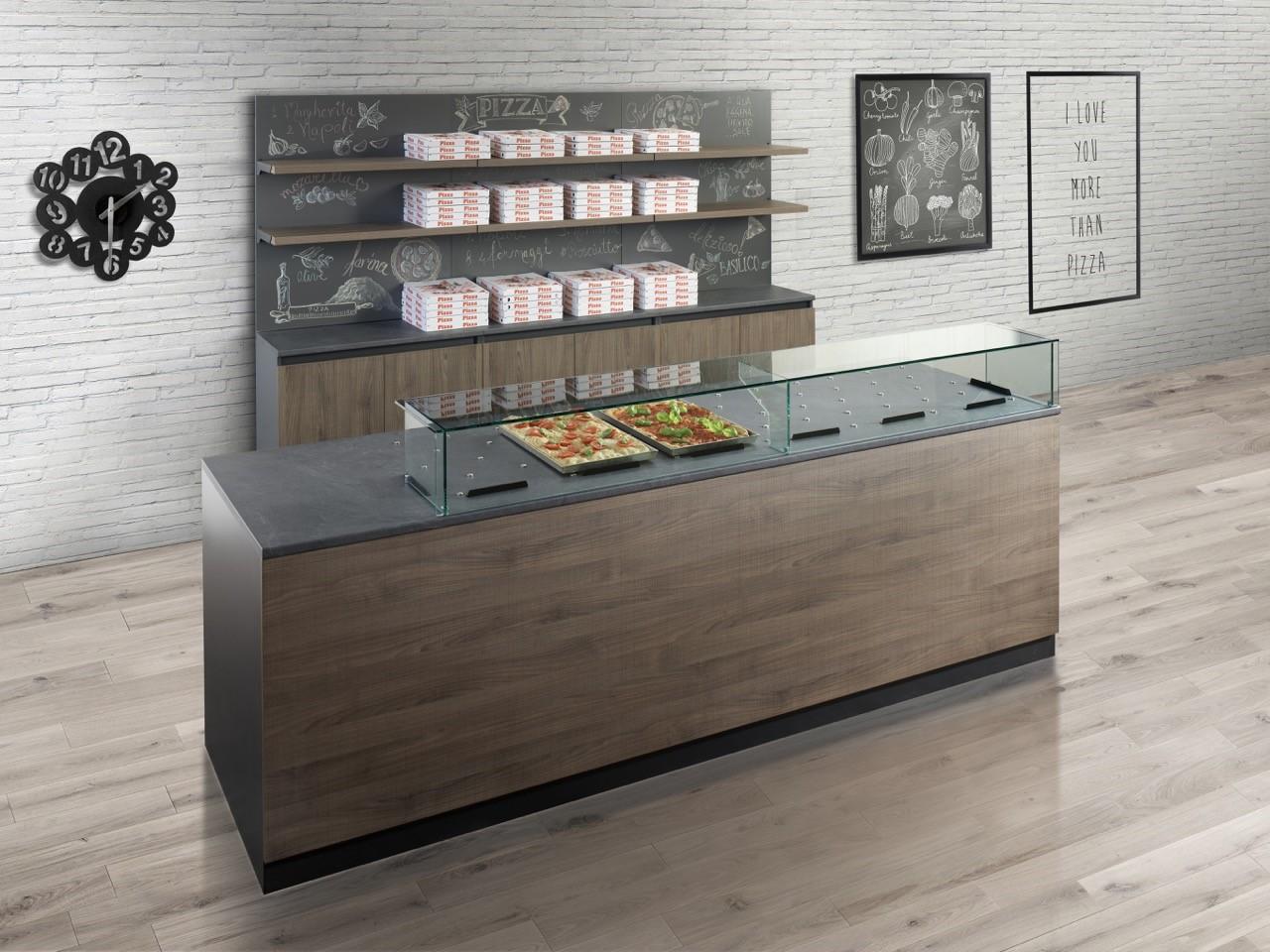 Bakerycafe arredamenti per panetteria panificio bar for Pizzeria arredamento