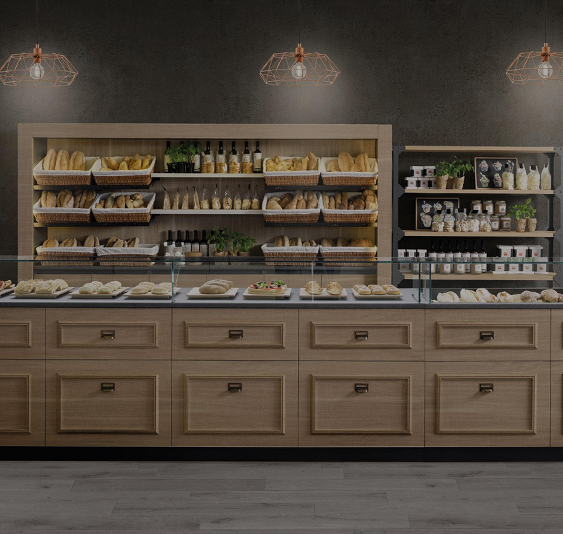 Bakery arredamenti attivita commerciali panetterie home for Arredamenti commerciali