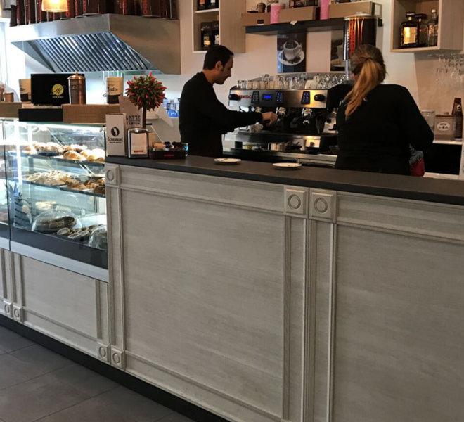 gallery realizzazioni e allestimenti - banco bar/pasticceria/panetteria