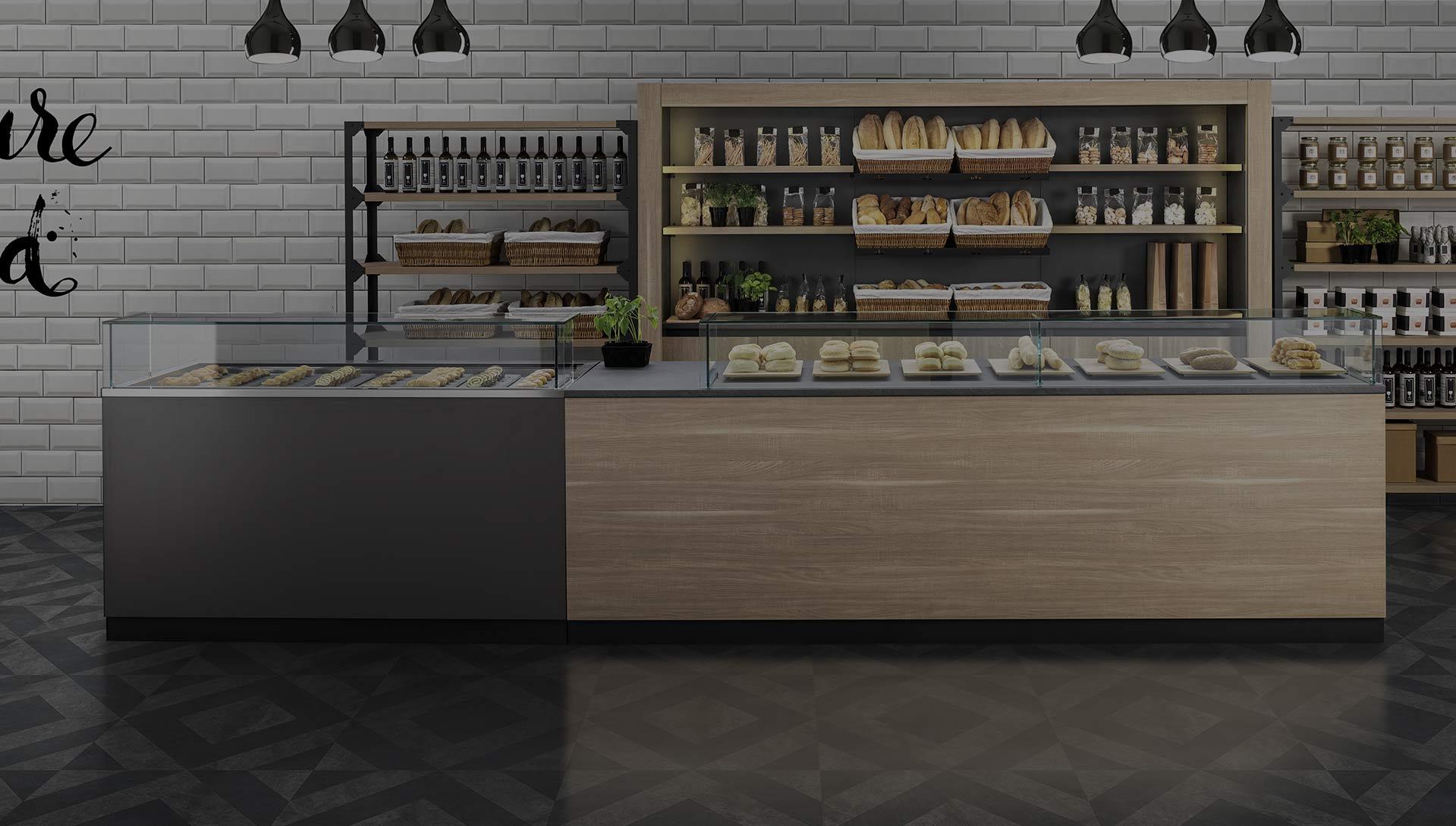 Arredamenti attivit commerciali bar pasticcerie for Arredamenti commerciali
