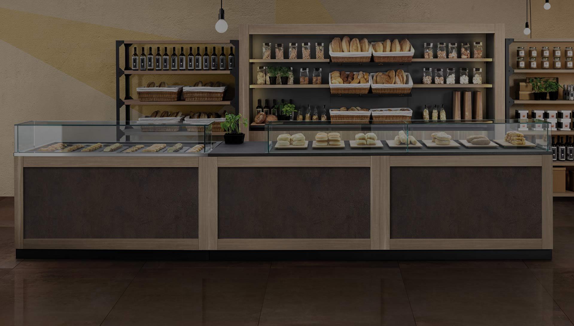 Arredamenti attivit commerciali bar pasticcerie for Arredamenti per locali commerciali