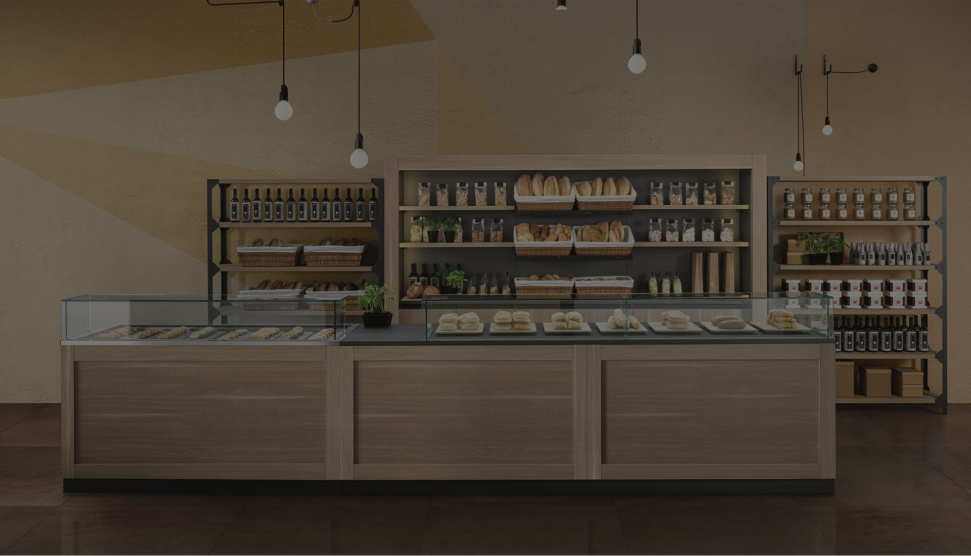 i nostri arredamenti per locali commerciali bakerycafe