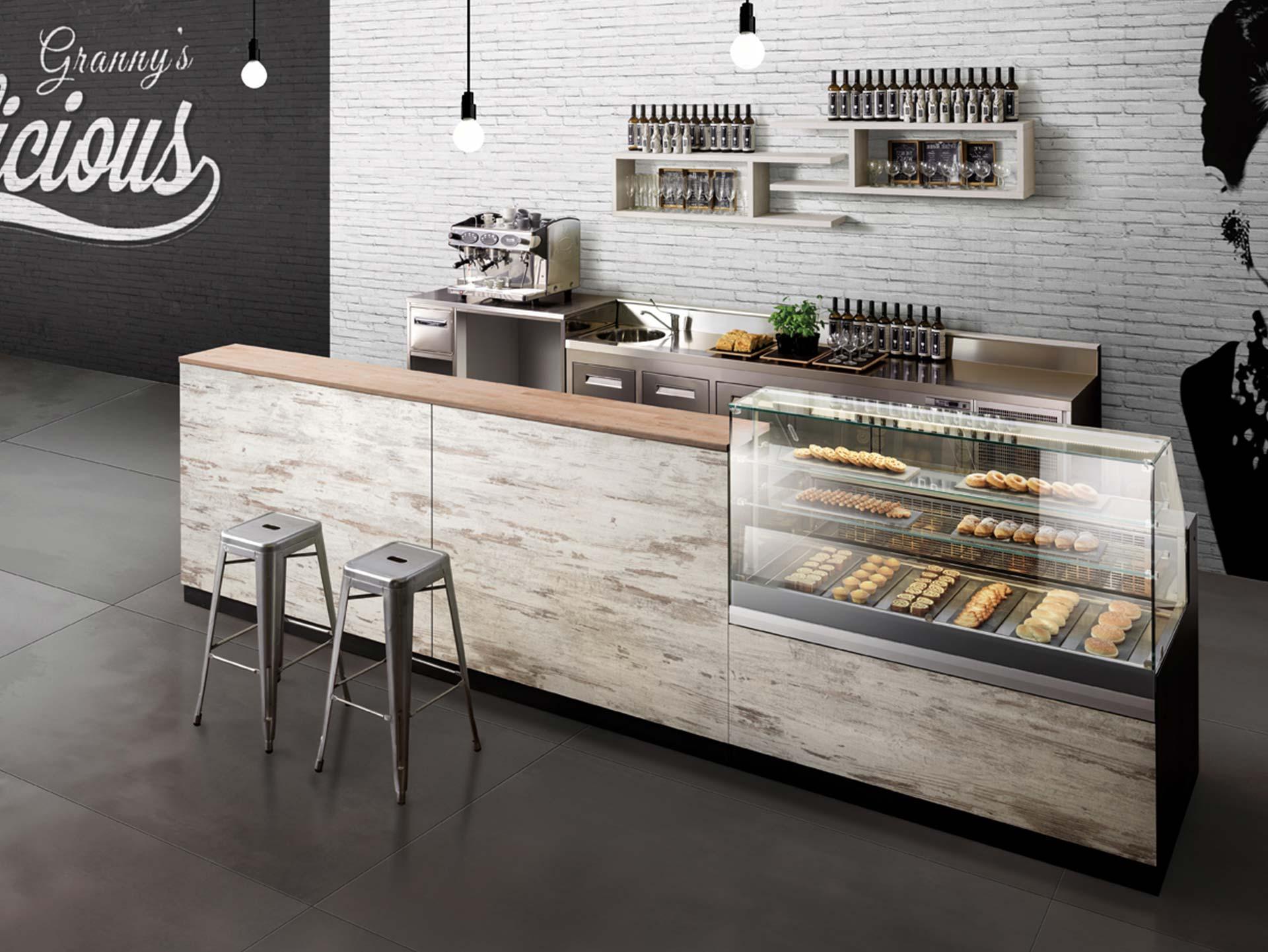 arredamento bar, pasticcerie, tabaccherie e gelaterie - prodotto easy