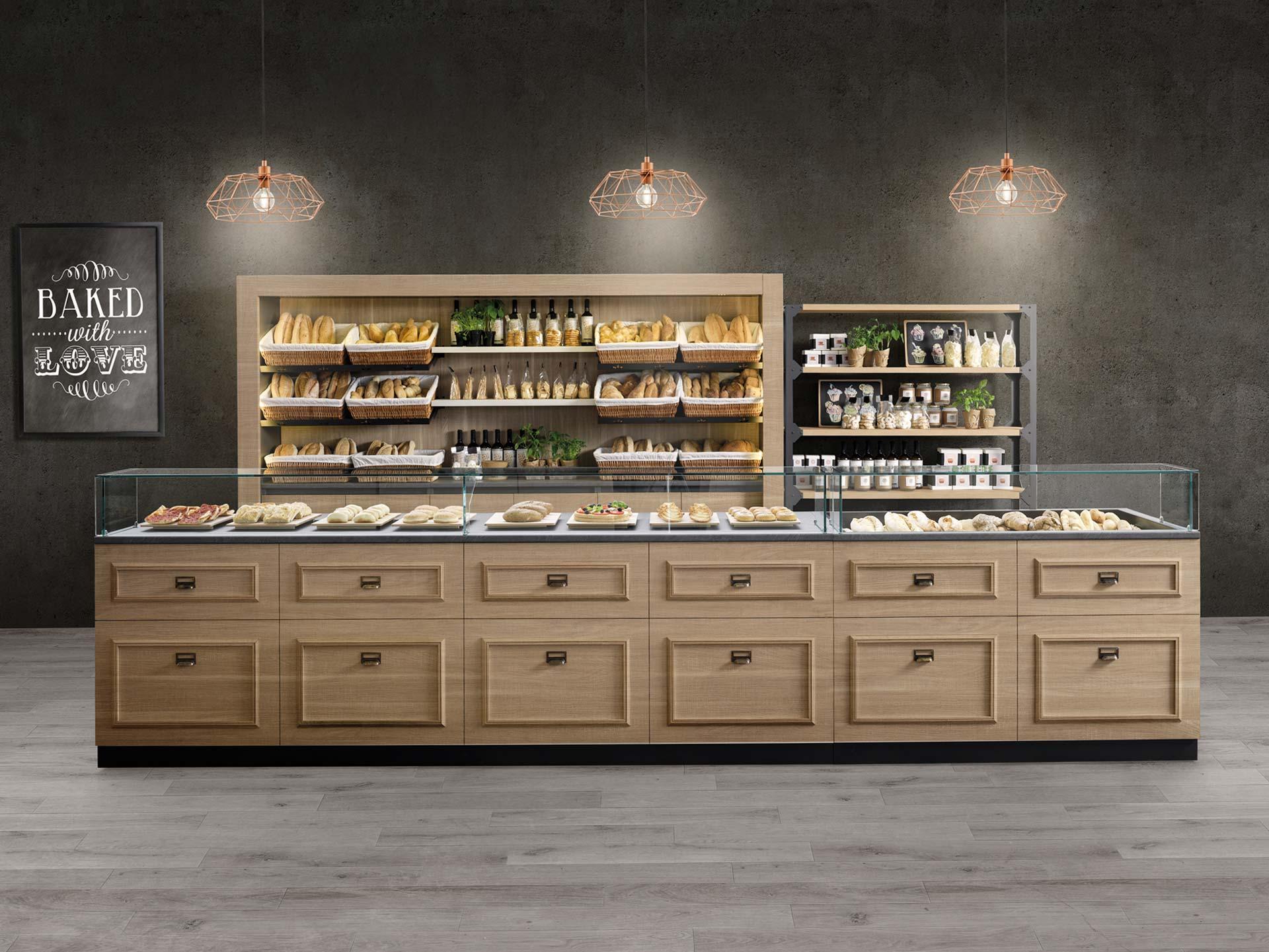arredamento bar, pasticcerie, tabaccherie e gelaterie - prodotto ginger