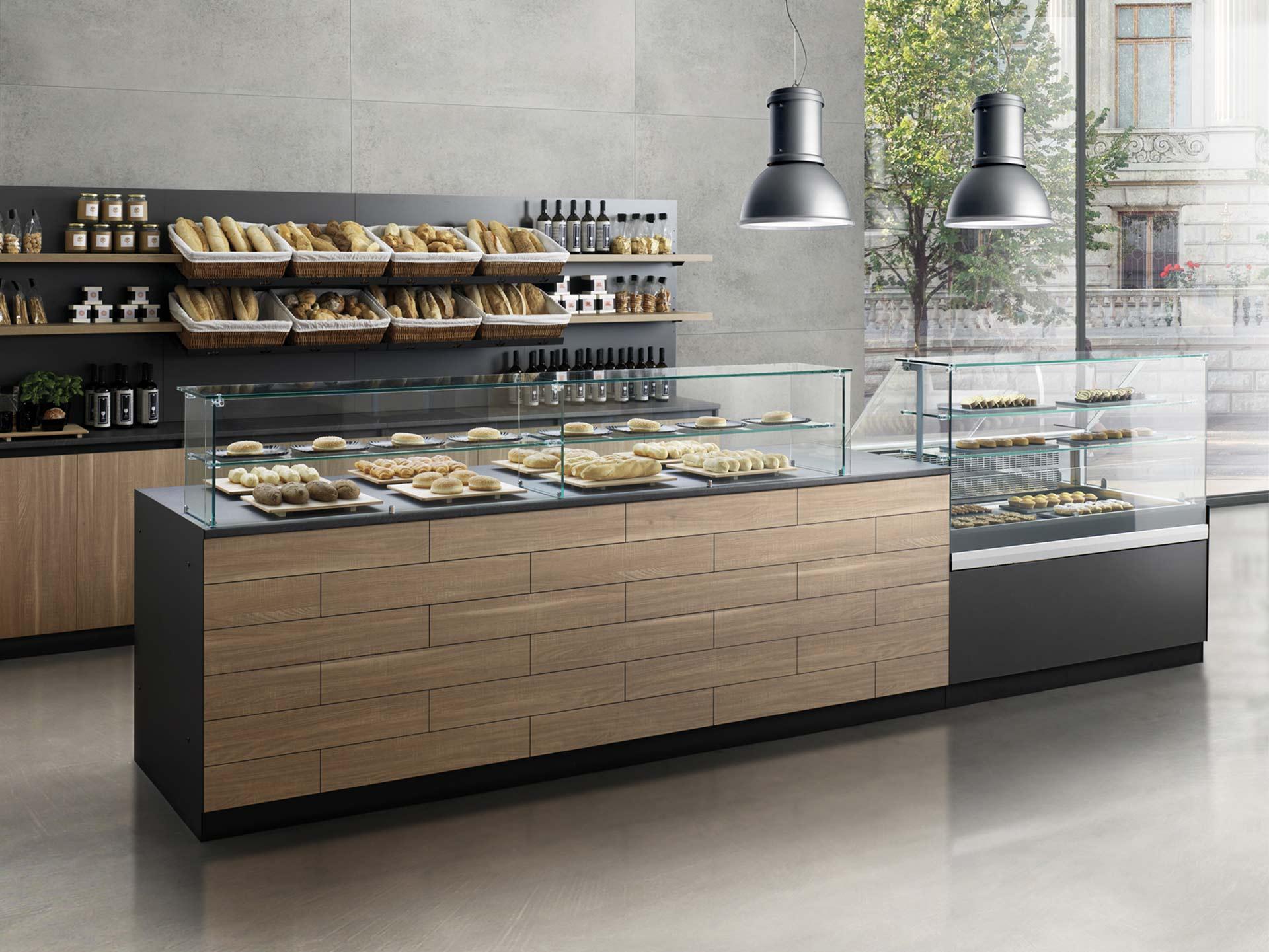 arredamento bar, pasticcerie, tabaccherie e gelaterie - prodotto parquet