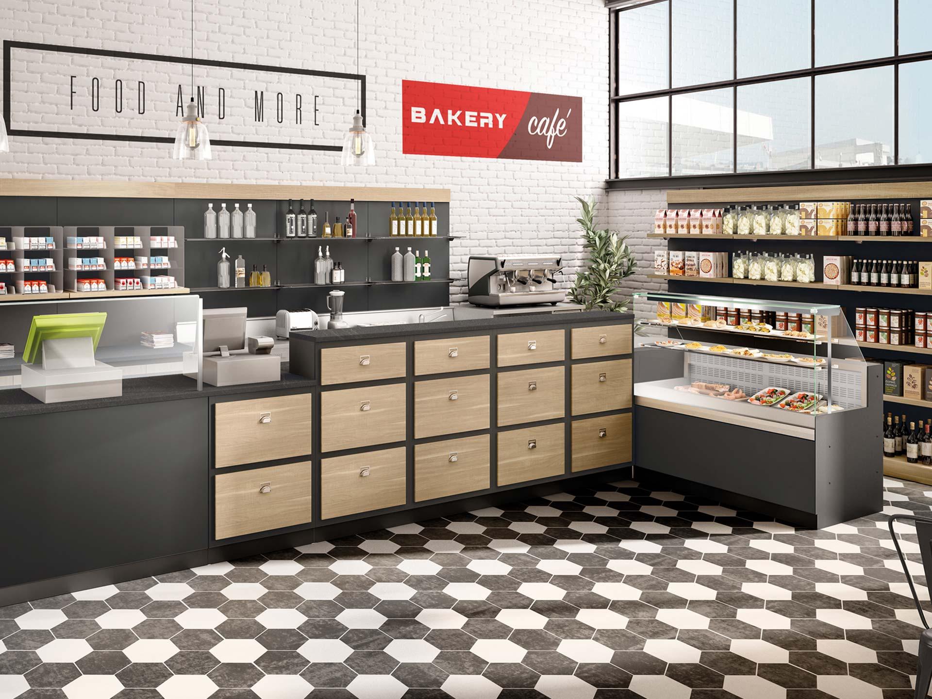 bancone per bar, pasticcerie, tabaccherie e gelaterie - prodotto dresser