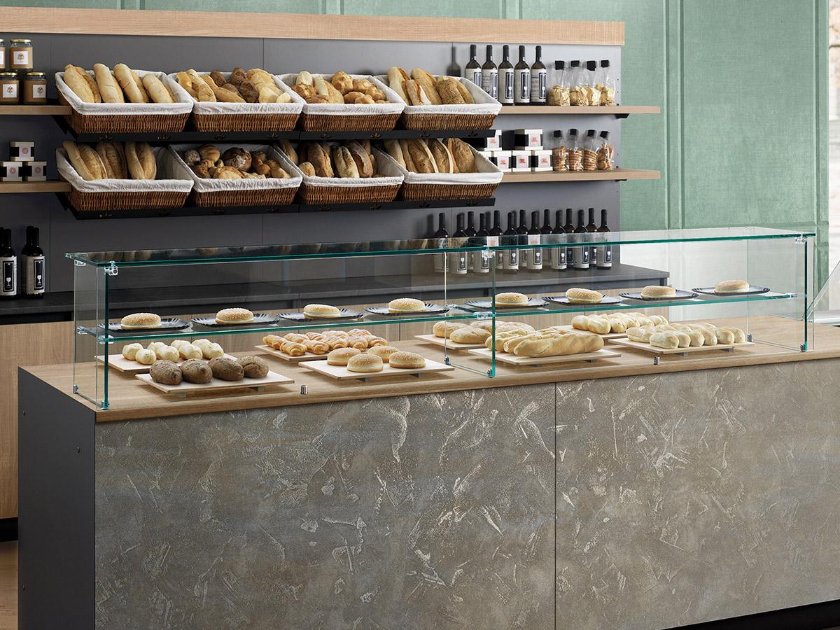 come scegliere un banco per arredare una panetteria